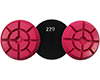 DIAMOND FLOOR POLISHING PADS Φ100 THUNDER No 220