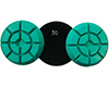 DIAMOND FLOOR POLISHING PADS Φ100 THUNDER No 30