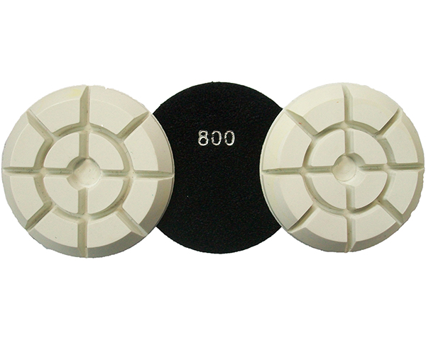 DIAMOND FLOOR POLISHING PADS Φ100 THUNDER No 800